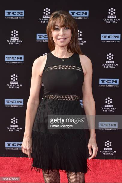 Actor Illeana Douglas attends the 50th anniversary screening of 'In the Heat of the Night' during the 2017 TCM Classic Film Festival on April 6 2017...
