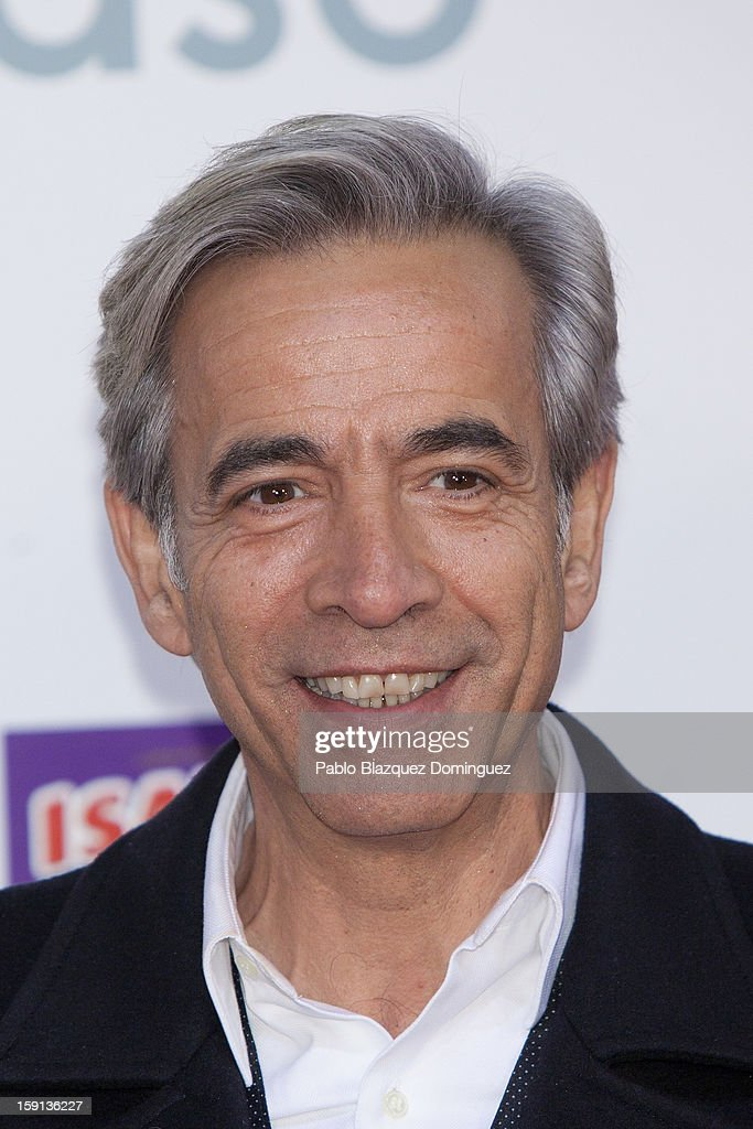 Actor Imanol Arias attends 'Cuentame Como Paso' 14th Season presentation at Capitol Cinema on January 8, 2013 in Madrid, Spain.