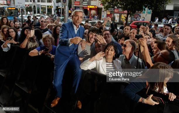 Actor Imanol Arias attends the 'Despido procedente' photocall at Callao cinema on June 29 2017 in Madrid Spain