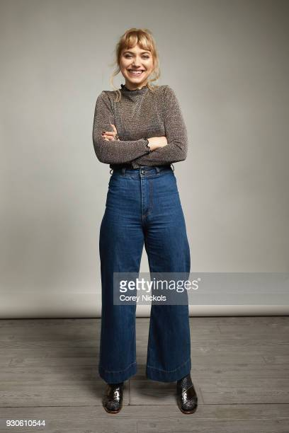 Actor Imogen Poots from the film 'Friday's Child' poses for a portrait in the Getty Images Portrait Studio Powered by Pizza Hut at the 2018 SXSW Film...