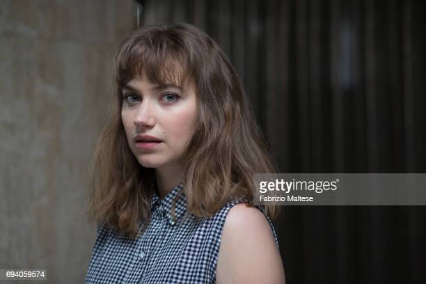 Actor Imogen Poots is photographed for the Hollywood Reporter on May 21, 2017 in Cannes, France.