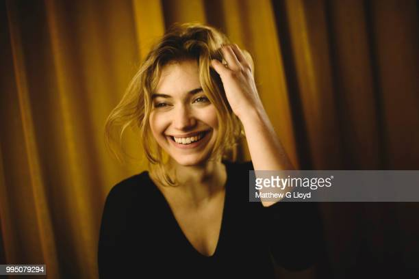 Actor Imogen Poots is photographed for the Times on December 14 2010 in London England