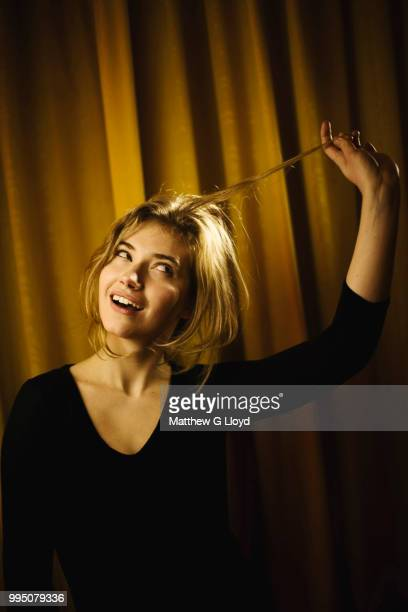 Actor Imogen Poots is photographed for the Times on December 14, 2010 in London, England.