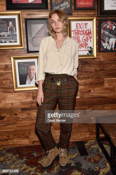 Actor Imogen Waterhouse attends cocktails hosted by Autograph Collection Hotels to Celebrate Maggie Gyllenhaal as Independent Film Advisor for the...