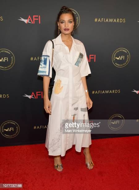 Actor Indya Moore attends the 19th Annual AFI Awards at Four Seasons Hotel Los Angeles at Beverly Hills on January 4 2019 in Los Angeles California