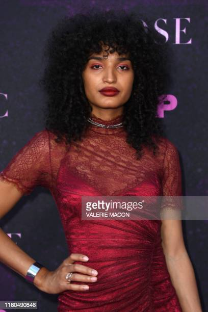 US actor Indya Moore attends the red carpet event for FX's Pose at Pacific Design Center in West Hollywood California on August 9 2019
