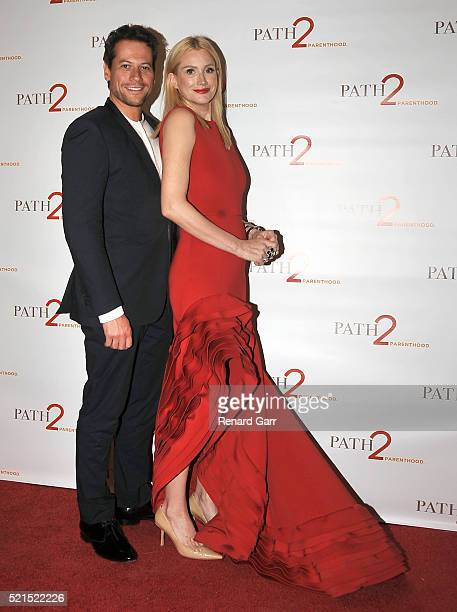Actor Ioan Gruffud and actress/wife Alice Evans arrive for the Path 2 Parenthood Annual Gala Honoring Alice Evans And Ioan Gruffudd held at Four...