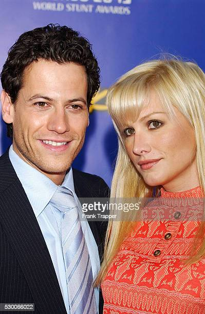 Actor Ioan Gruffudd and guest arrive at The 4th Annual Taurus World Stunt Awards