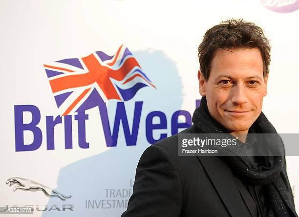 Actor Ioan Gruffudd arrives at the official launch party of BritWeek at a private residence in Hancock Park 2012 on April 24 2012 in Los Angeles...