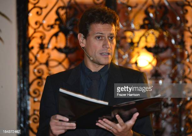 Actor Ioan Gruffudd attend Wales Celebrates the launch of 'The Richard Burton Diaries' hosted by The Welsh Government Swansea University and Yale...