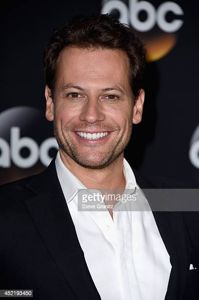 Actor Ioan Gruffudd attends the Disney/ABC Television Group 2014 Television Critics Association Summer Press Tour at The Beverly Hilton Hotel on July...