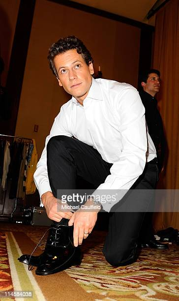Actor Ioan Gruffudd backstage at the 15th Annual Race to Erase MS at the Hyatt Regency on May 2 2008 in Century City California **EXCLUSIVE**CALL FOR...