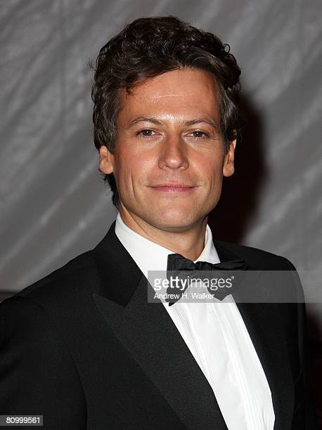 Actor Ioan Gruffudd departs from the Metropolitan Museum of Art Costume Institute Gala Superheroes Fashion and Fantasy held at the Metropolitan...