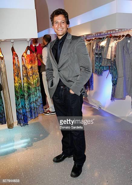 Actor Ioan Gruffudd during the Alexander McQueen Store Opening at Alexander McQueen on May 13 2008 in Los Angeles California
