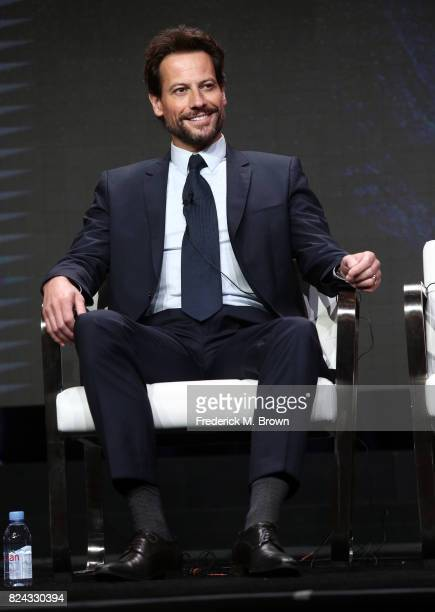 Actor Ioan Gruffudd of 'Liar' speaks onstage during the SundanceTV portion of the 2017 Summer Television Critics Association Press Tour at The...