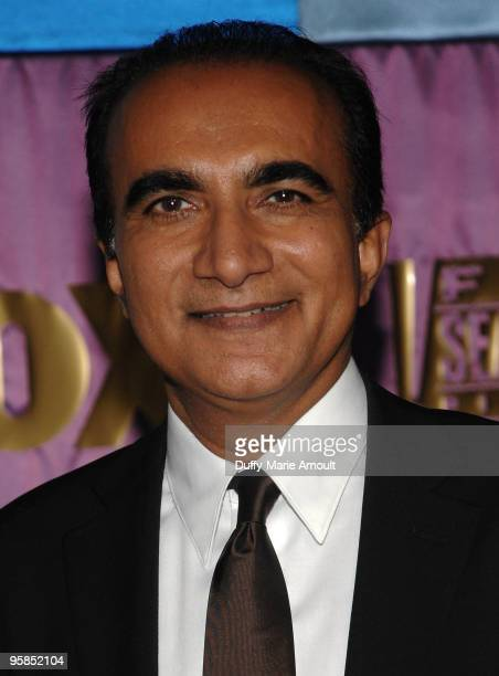 Actor Iqbal Theba attends Fox's 2010 Golden Globes Awards Party at Craft on January 17 2010 in Century City California