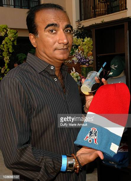 Actor Iqbal Theba poses at Retro Sport booth during Kari Feinstein Primetime Emmy Awards Style Lounge Day 2 held at Montage Beverly Hills hotel on...