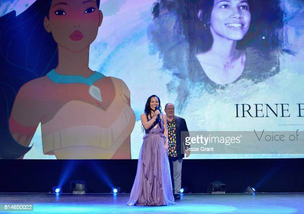 Actor Irene Bedard of RALPH BREAKS THE INTERNET WRECKIT RALPH 2 and Chief Creative Officer of Pixar and Walt Disney Animation Studios John Lasseter...