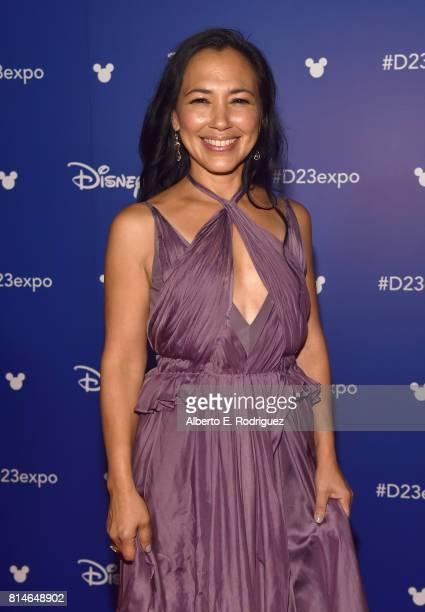Actor Irene Bedard of RALPH BREAKS THE INTERNET WRECKIT RALPH 2 took part today in the Walt Disney Studios animation presentation at Disney's D23...