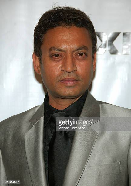 Actor Irrfan Khan attends the 17th Annual IFP Gotham Awards at Steiner Studios on November 27 2007 in Brooklyn NY