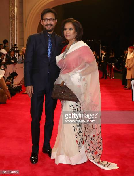 Actor Irrfan Khan attends the Opening Night Gala of the 14th annual Dubai International Film Festival held at the Madinat Jumeriah Complex on...