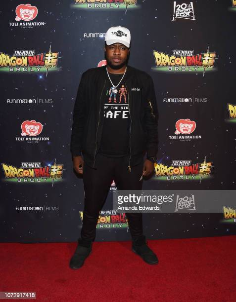 Actor Irving Lambert arrives at Funimation Films' Premiere of Dragon Ball Super Broly at the TCL Chinese Theatre on December 13 2018 in Hollywood...