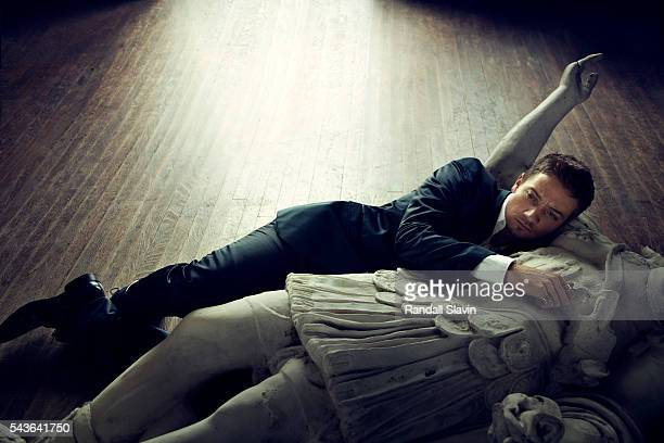 Actor is photographed for Prestige Hong Kong on February 14 2010 in Los Angeles California