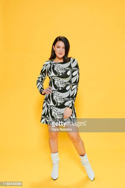 Actor Isa Briones of CBS's Picard poses for a portrait during the 2020 Winter TCA at The Langham Huntington Pasadena on January 12 2020 in Pasadena...