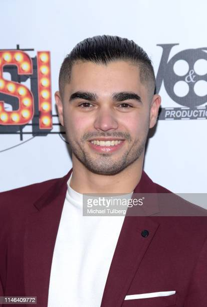 Actor Isaac Gonzalez attends a Los Angeles VIP industry screening with the filmmakers and cast of DIVOS at TCL Chinese 6 Theatres on May 01 2019 in...