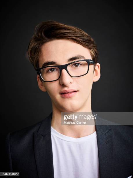 Actor Isaac Hempstead Wright from 'Game of Thrones' is photographed for Entertainment Weekly Magazine on July 22 2016 at Comic Con in the Hard Rock...