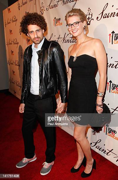 Actor Isaac Kappy attends the Saint Vintage Love Tour benefiting Stand Up 2 Cancer at The Andaz on March 22 2012 in West Hollywood California