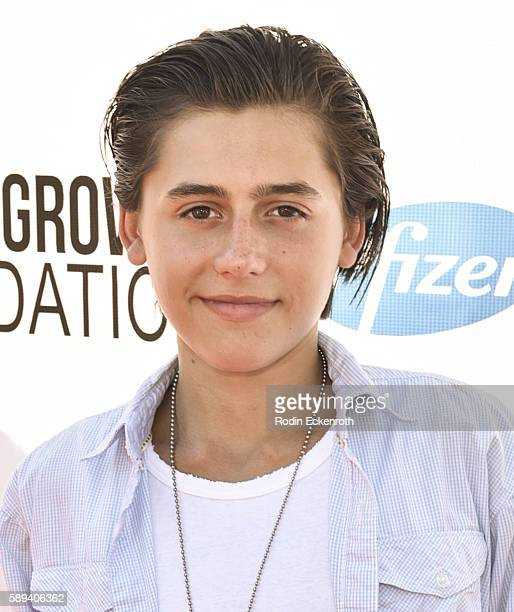 Actor Isaak Presley attends the Say NO Bullying Festival at Griffith Park on August 13 2016 in Los Angeles California