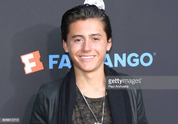 Actor Isaak Presley attends the The Lion King singalong and screening at The Greek Theatre on August 5 2017 in Los Angeles California
