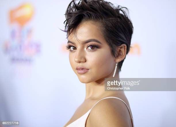 Actor Isabela Moner at Nickelodeon's 2017 Kids' Choice Awards at USC Galen Center on March 11 2017 in Los Angeles California