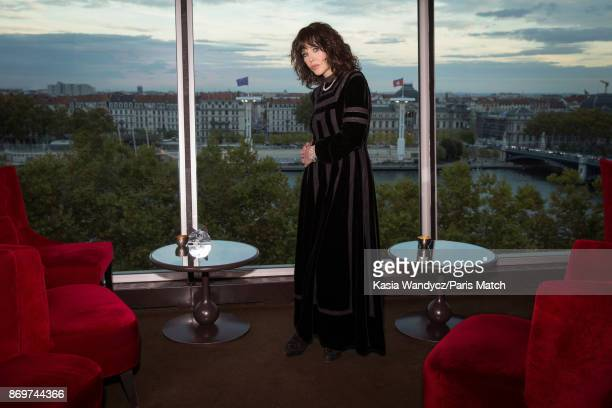 Actor Isabelle Adjani is photographed for Paris Match on October 20 2017 in Lyon France