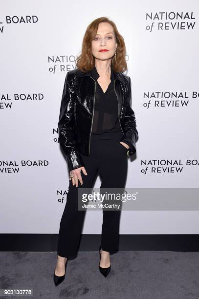 Actor Isabelle Hupper attends the National Board of Review Annual Awards Gala at Cipriani 42nd Street on January 9 2018 in New York City