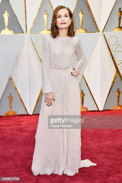 Actor Isabelle Huppert attends the 89th Annual Academy Awards at Hollywood Highland Center on February 26 2017 in Hollywood California
