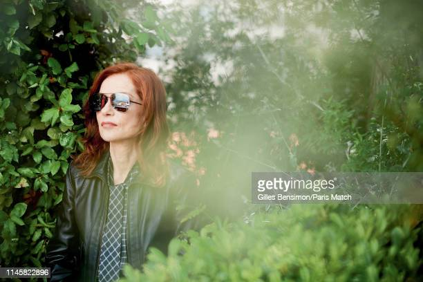 Actor Isabelle Huppert is photographed for Paris Match on May 19 2019 in Cannes France