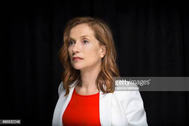 Actor Isabelle Huppert is photographed for the Hollywood Reporter on May 24 2017 in Cannes France