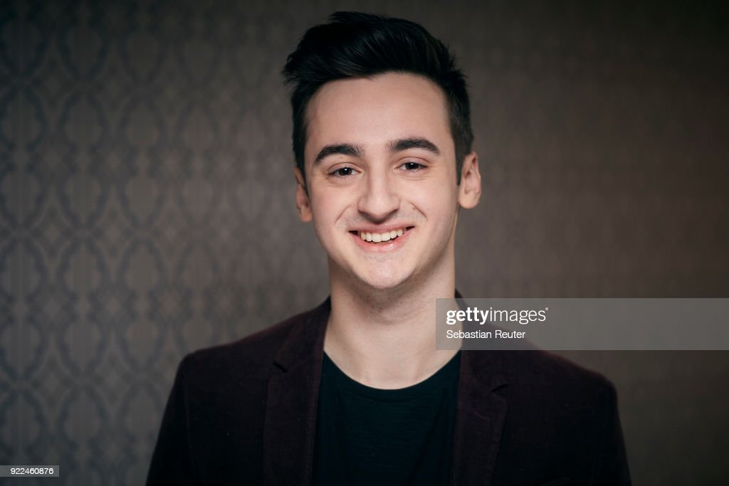 Actor Isaiah Michalski poses during the 'The Silent Revolution' (Das schweigende Klassenzimmer) portrait session at the 68th Berlinale International Film Festival Berlin at Hotel De Rome on February 20, 2018 in Berlin, Germany.