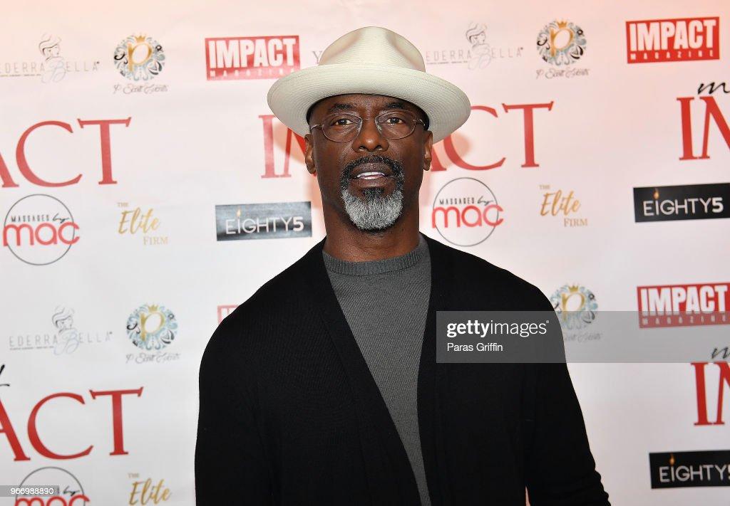 2018 Men Of Impact Weekend Honoring Isaiah Washington : News Photo