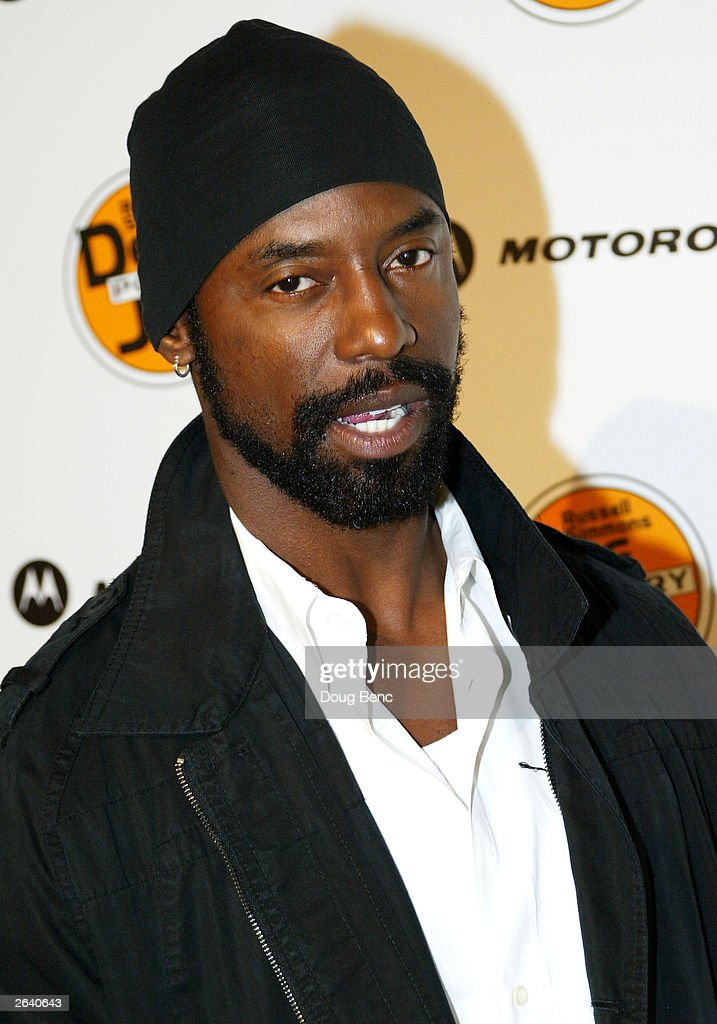 Actor Isaiah Washington attends Russell Simmons Def Jam Poetry Broadway 'Jams' Tour Kick-off on October 23, 2003 at the Wadsworth Theater in Brentwood, California.
