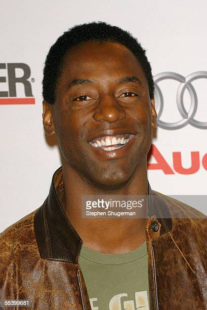 Actor Isaiah Washington attends The Hollywood Reporter 75th Anniversary Gala at Astra West at The Pacific Design Center on September 13 2005 in West...