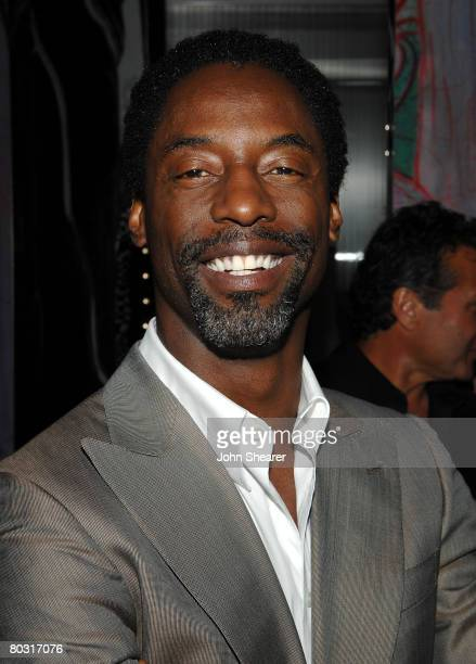 Actor Isaiah Washington attends the Los Angeles screening of Trembled Blossoms presented by Prada on March 19 2008 in Beverly Hills California