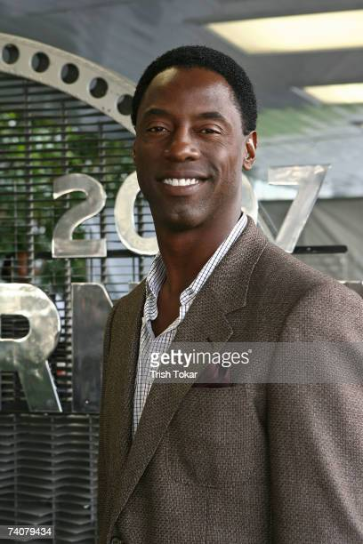 Actor Isaiah Washington attends the opening of the 2007 Los Angeles Modernism Show Celebrating Design of the 20th Century at the Santa Monica Civic...