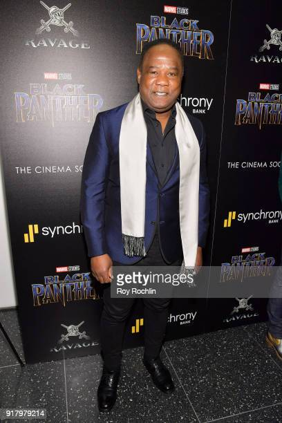 Actor Isiah Whitlock Jr attends the screening of Marvel Studios' 'Black Panther' hosted by The Cinema Society on February 13 2018 in New York City