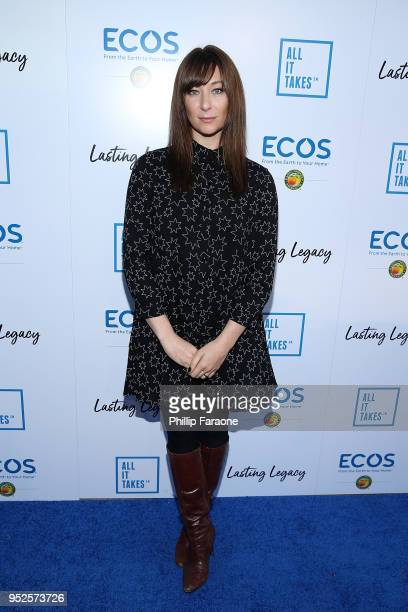 Actor Isidora Goreshter attends the All It Takes Fundraiser Dinner on April 28 2018 in Cypress California