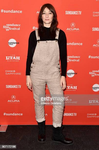 Actor Isidora Goreshter attends the 'Clara's Ghost' Premiere during the 2018 Sundance Film Festival at Park City Library on January 19 2018 in Park...