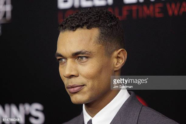 Actor Ismael Cruz Cordova attends the 54th New York Film Festival Billy Lynn's Long Halftime Walk screening at AMC Lincoln Square Theater on October...