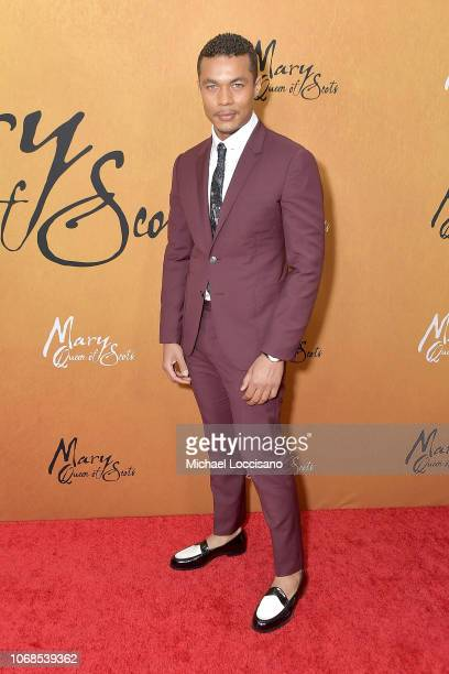 Actor Ismael Cruz Cordova attends the New York premiere of Mary Queen Of Scots at Paris Theater on December 4 2018 in New York City